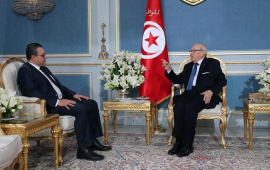 رئيس الجمهورية يستقبل رئيس مدير عام التلفزة التونسية