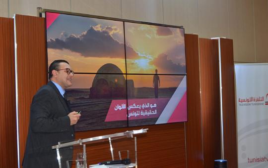 رئيس مدير عام التفزة التونسية الياس الغربي