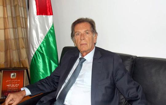 السفير الفلسطيني بتونس هائل الفاهوم